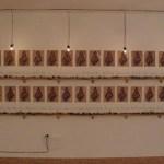 mixed media installation, 12' x 30'