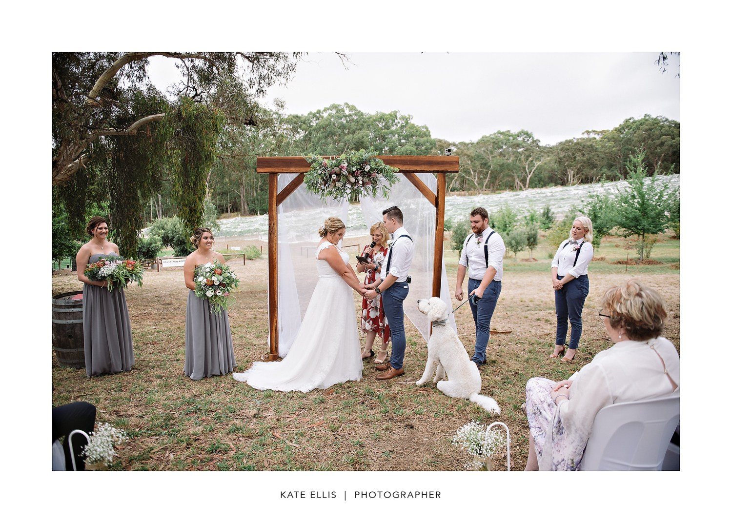 Sarah + Kevin + Oakley | Adelaide Wedding Photographer