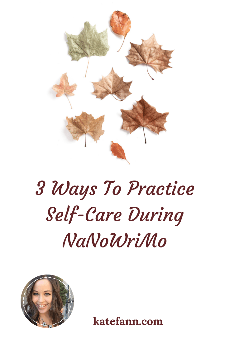 NaNoWriMo is a big challenge to take on! To avoid becoming stressed and burned out, you have to practice some self-care. Check out my best tricks for taking care of yourself during NaNoWriMo.