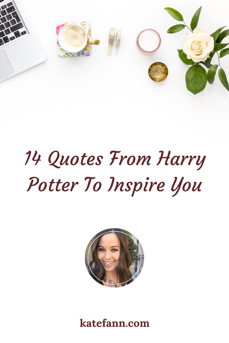 I\'m a huge fan of the Harry Potter series. As a writer, words are everything to me. Check out some of my favorite quotes from JK Rowling!