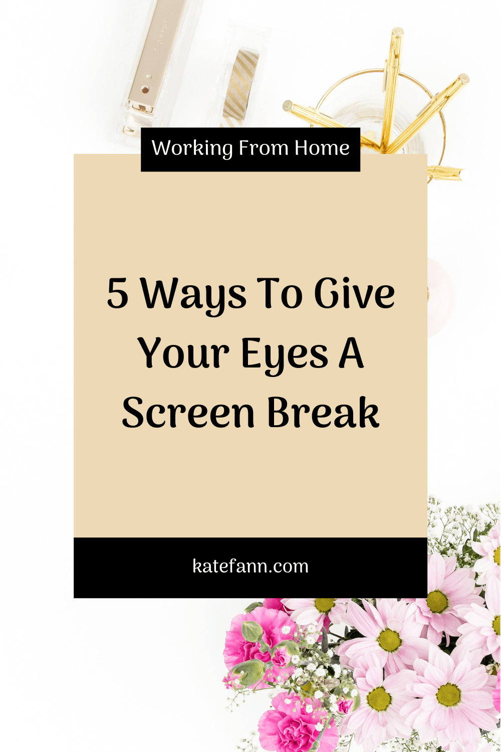 5 Ways To Give Your Eyes A Screen Break