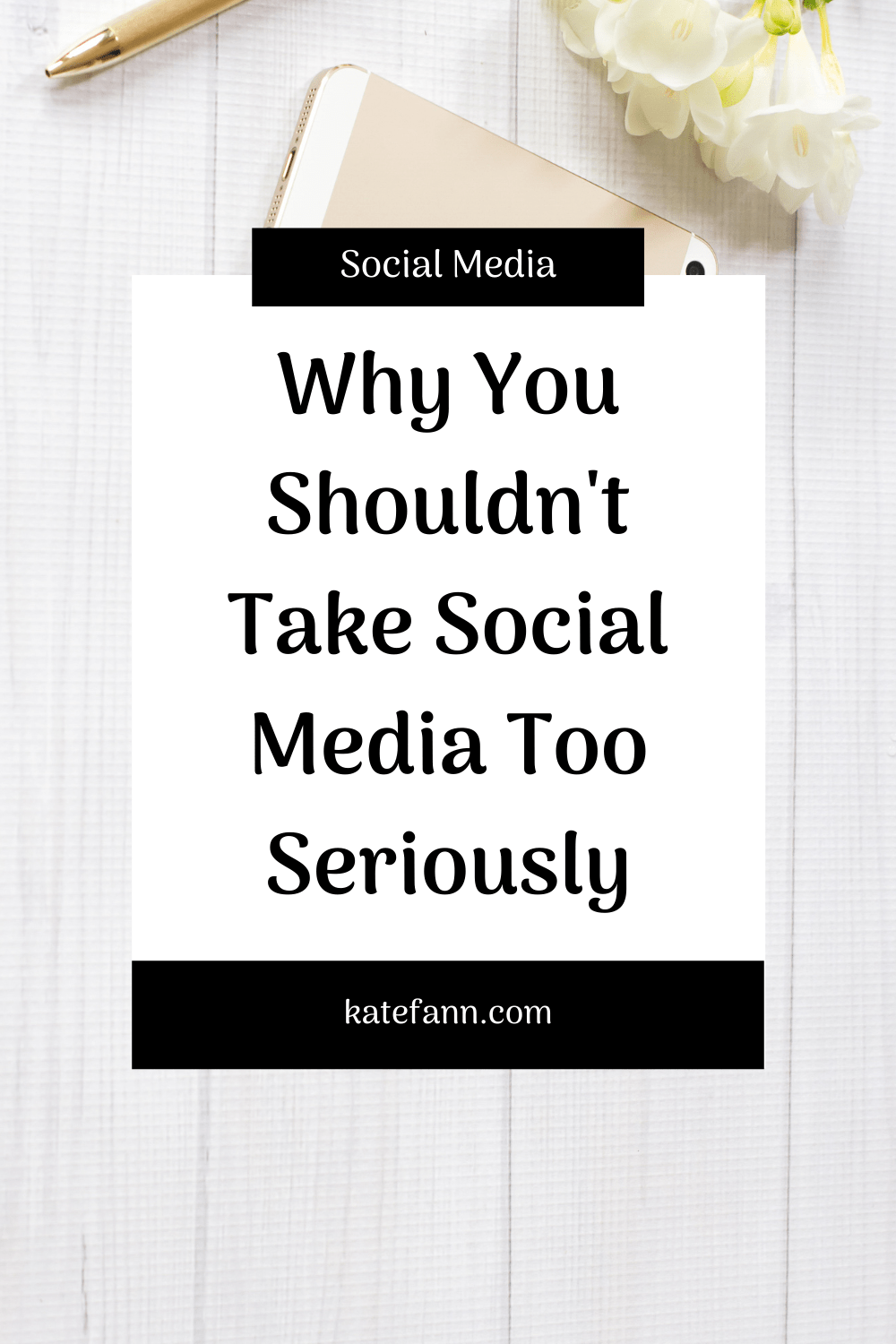 Why You Shouldn't Take Social Media Too Seriously