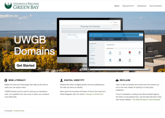 UWGB Domains Check-up