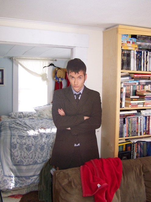 The magical David Tennant who has become my sounding board.
