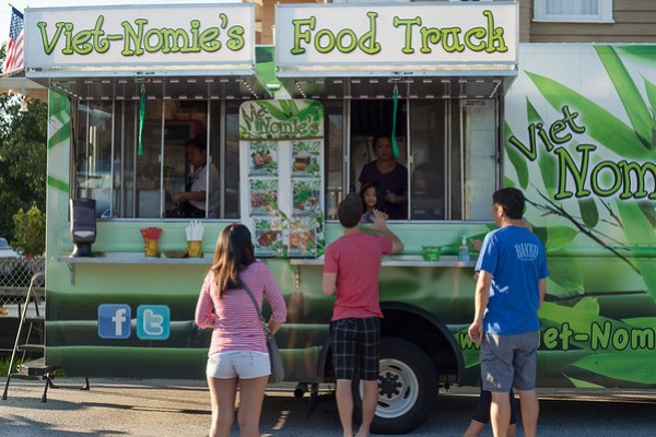 Viet-Nomie's Food Truck, Atlanta, Vietnamese Food, Asian