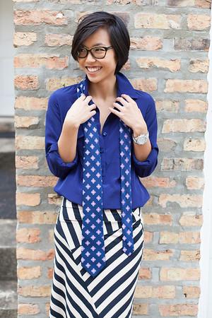 Kate Style Petite l Stripped Maxi