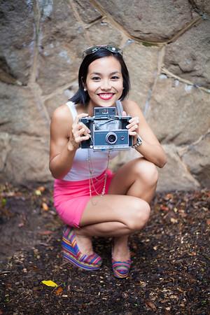 Asian Fashion, photographer, Kate Greer, Polaroid