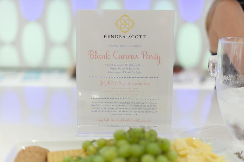 Blank Canvas Party #KSblankcanvas