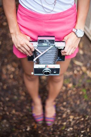 Asian Fashion, Kate Greer, Polaroid