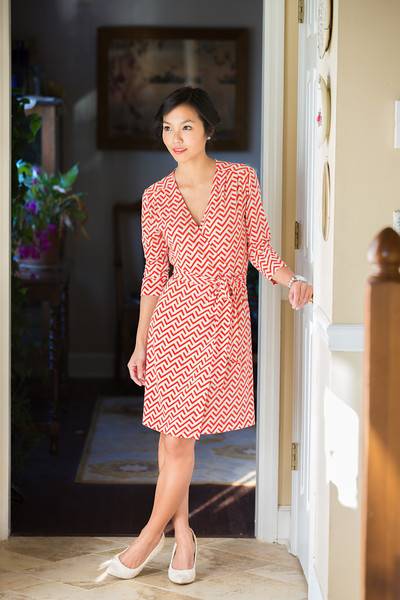 Kate Style Petite, Banana Republic Wrap Dress