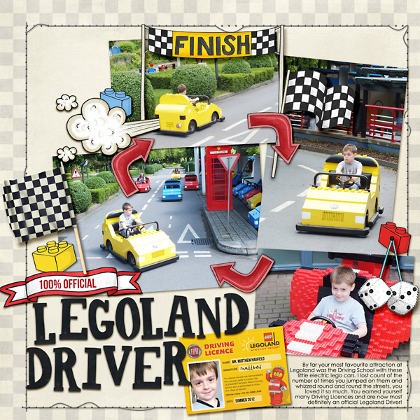 Legoland Driver by Kate Hadfield