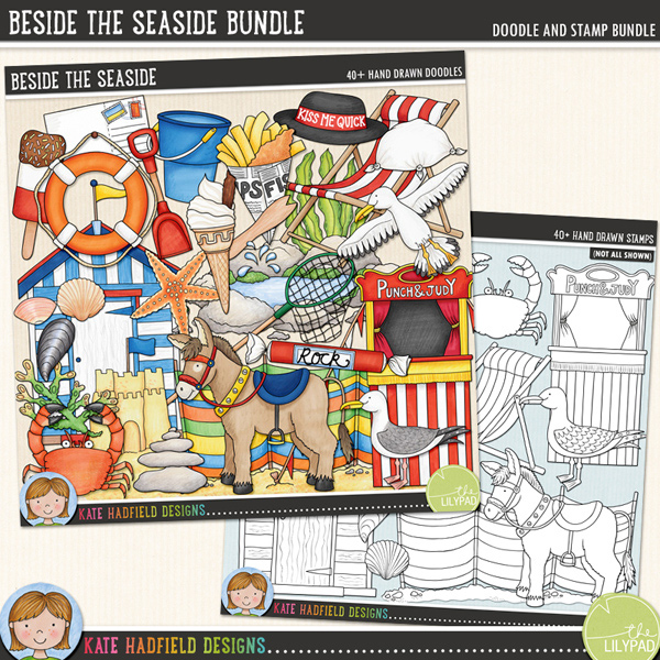 Beside the Seaside Bundle by Kate Hadfield