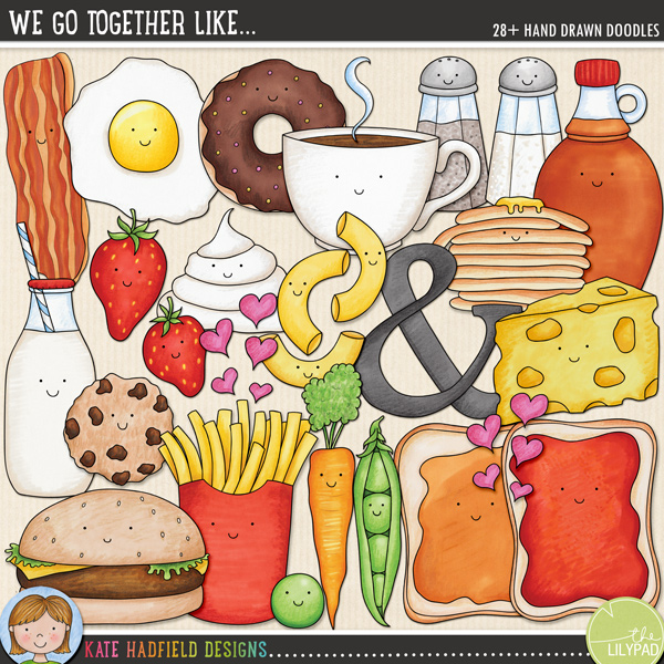 We Go Together Like... by Kate Hadfield