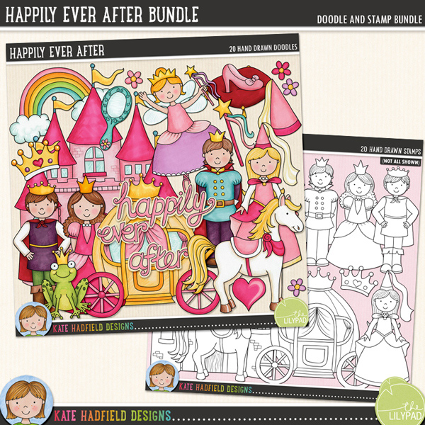 Happily Ever After Bundle by Kate Hadfield | www.katehadfielddesigns.com