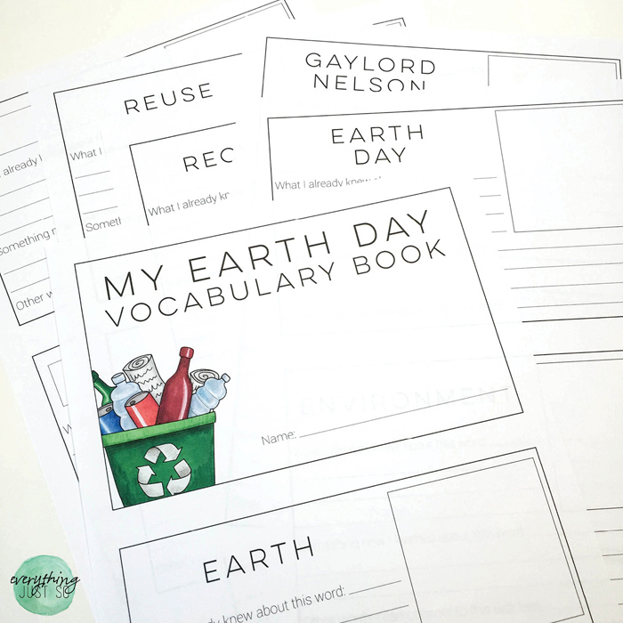 Earth Day - everythingjustso.org - 10 Resources for celebrating Earth Day in the Upper Elementary Classroom11