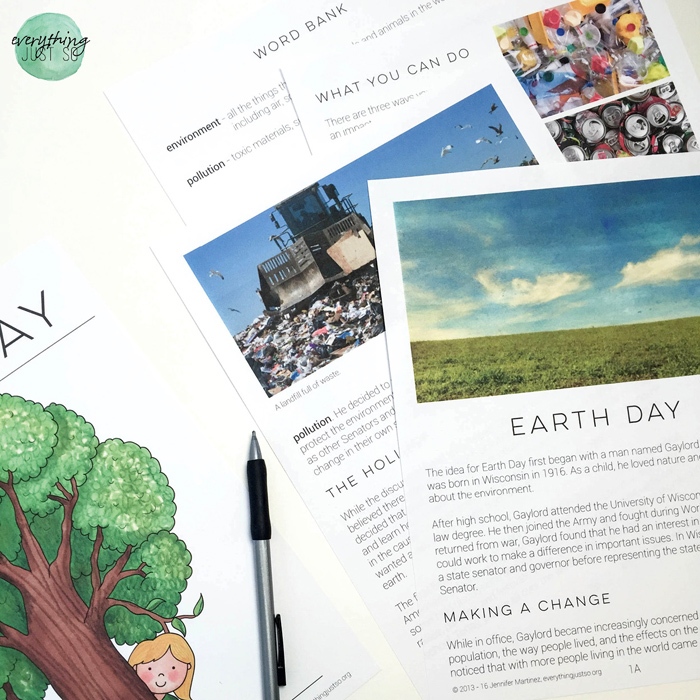 Earth Day - everythingjustso.org - 10 Resources for celebrating Earth Day in the Upper Elementary Classroom4