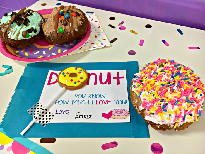 Father's Day donuts by Male Kindergarten Teacher ~ Kate Hadfield Designs