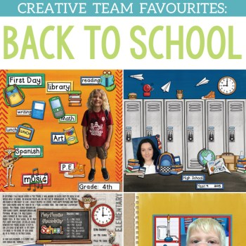School Favourites from the Team!
