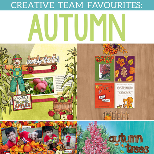 Autumn Favourites from the Kate Hadfield Designs Creative Team