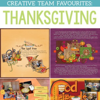 Thanksgiving Favourites from the Team