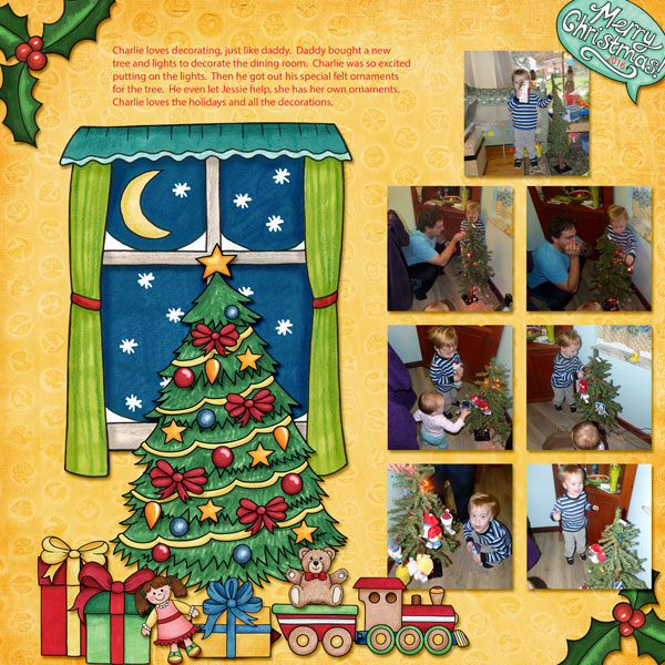 """Kate Hadfield Designs Creative Team inspiration: """"Under The Tree"""" 
