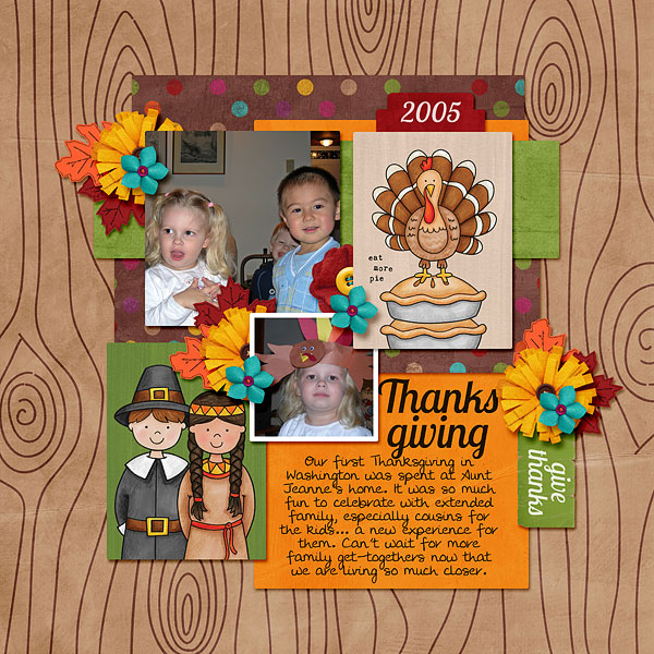 Kate Hadfield Designs Creative Team Christmas Favourites: Digital scrapbook layout by Bethany