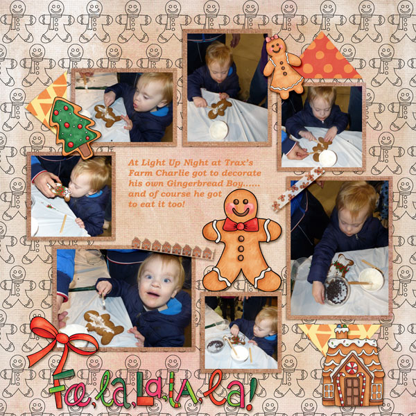 """Kate Hadfield Designs Creative Team inspiration: """"Christmas Overlays & Tapes"""" 