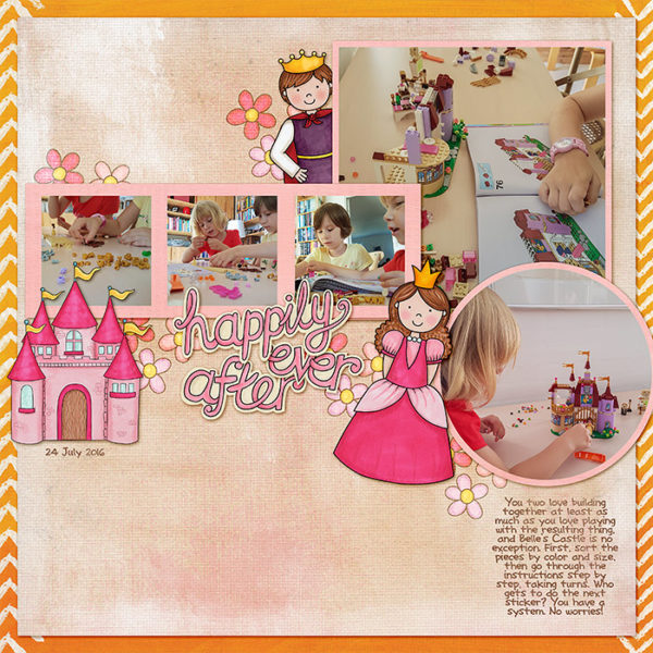 "Kate Hadfield Designs Creative Team ""Scrap Like Molly"" FREE digital scrapbooking template! 
