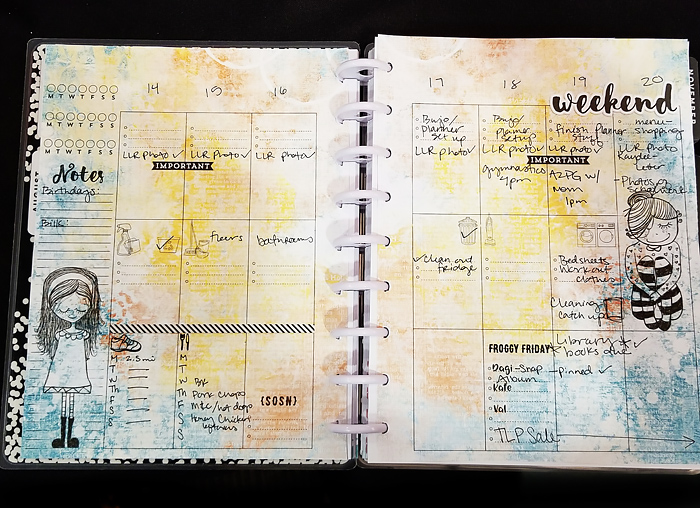 How to use digital scrapbooking supplies in your Happy Planner - tips for getting creative in your planner!