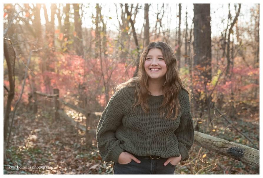Teen Daughter Portrait