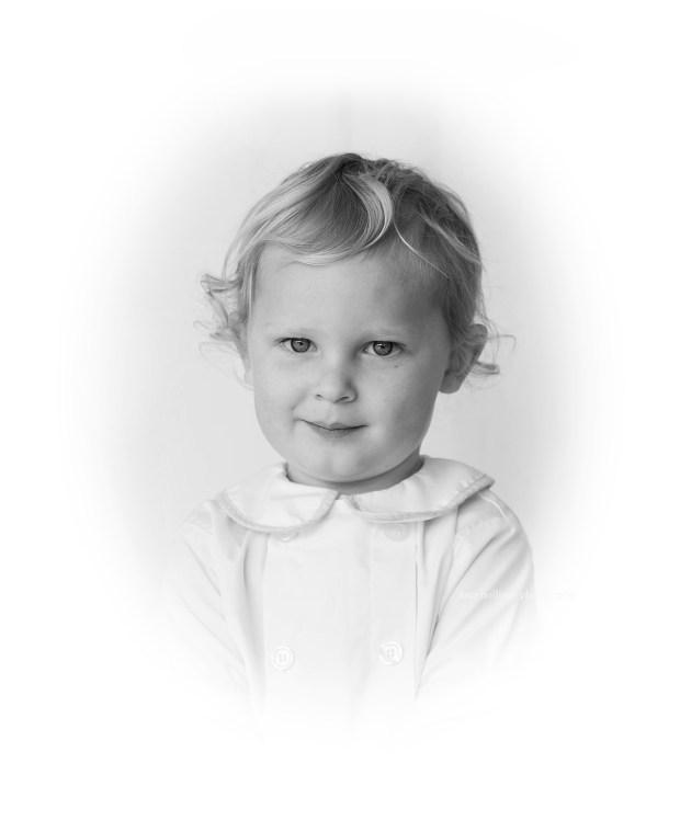 child's photograph portrait
