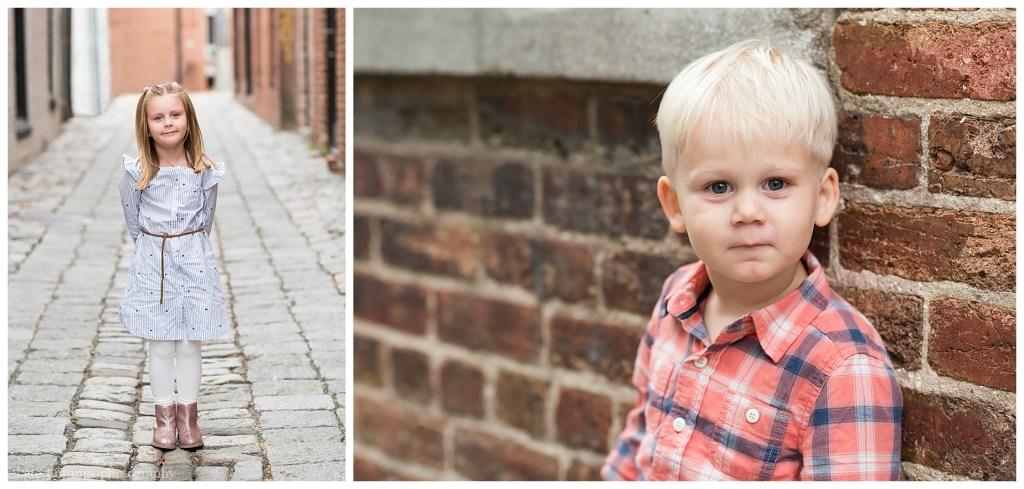Portraits of children in DC