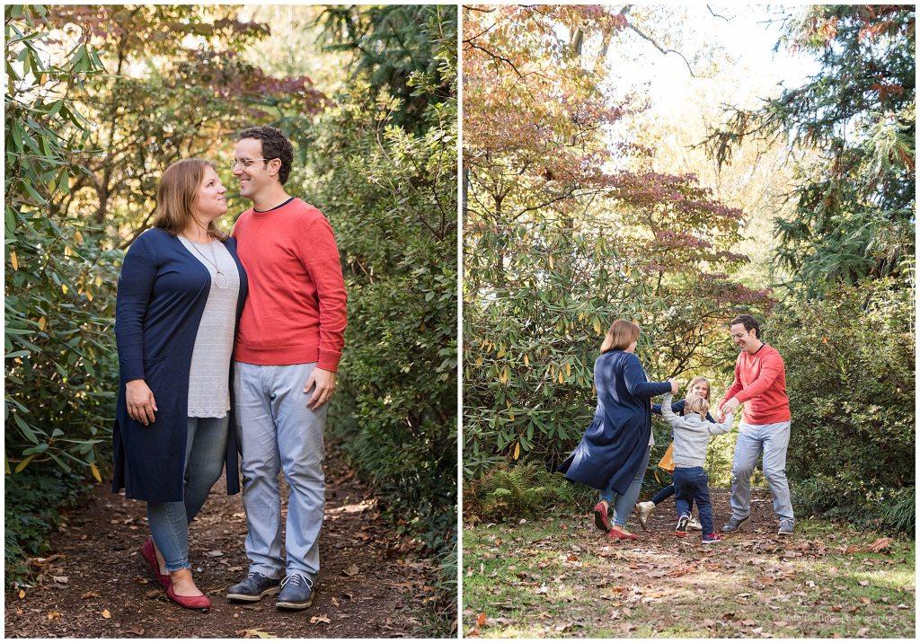 Autumn hues at fall photo session