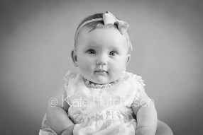 6 month old baby portrait