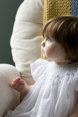 window lit baby portrait