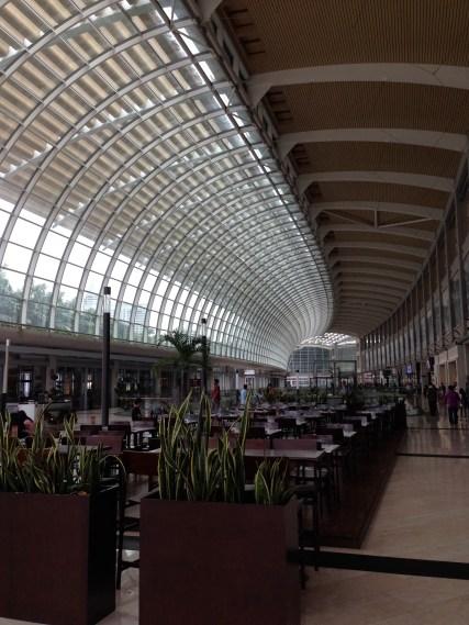 a mall at Marina Bay