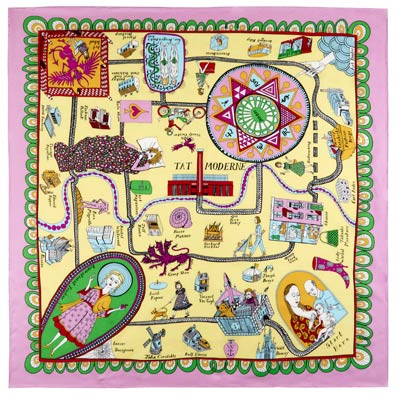 Grayson Perry Scarf, Tate, £75