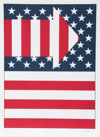 American Flag III by Paul von Ringelheim