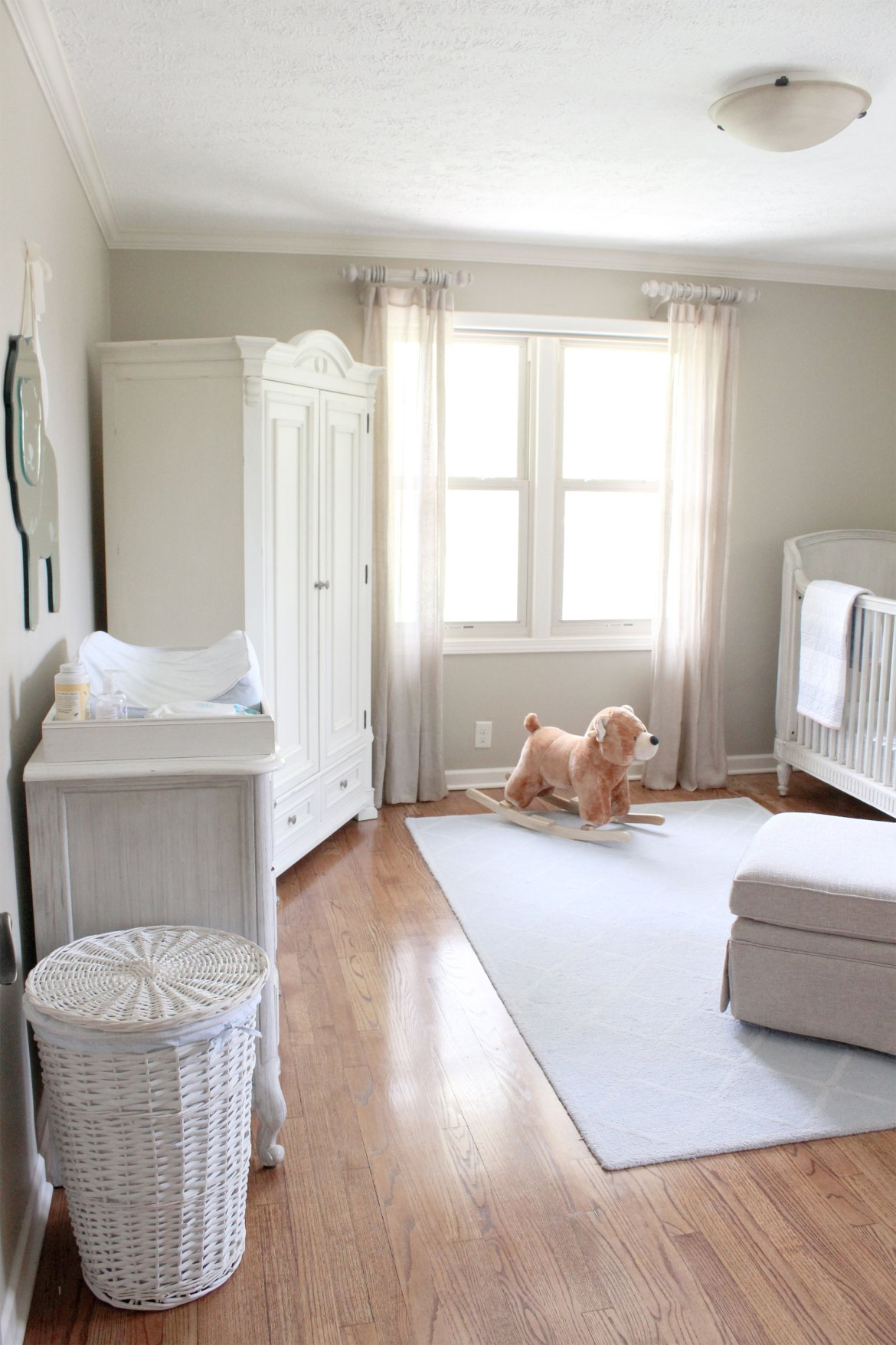 Before And After Harris Nursery Kate Knowles Home