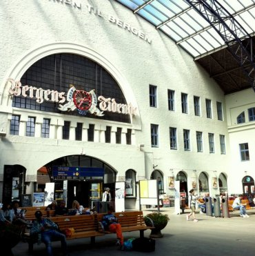 Bergen's train station.