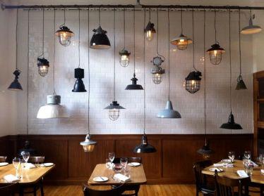 Luminaire industriel restaurant