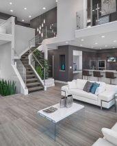 escalier design dans salon design