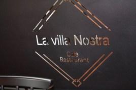 Café restaurant La villa Nostra Katell guivarch architecture