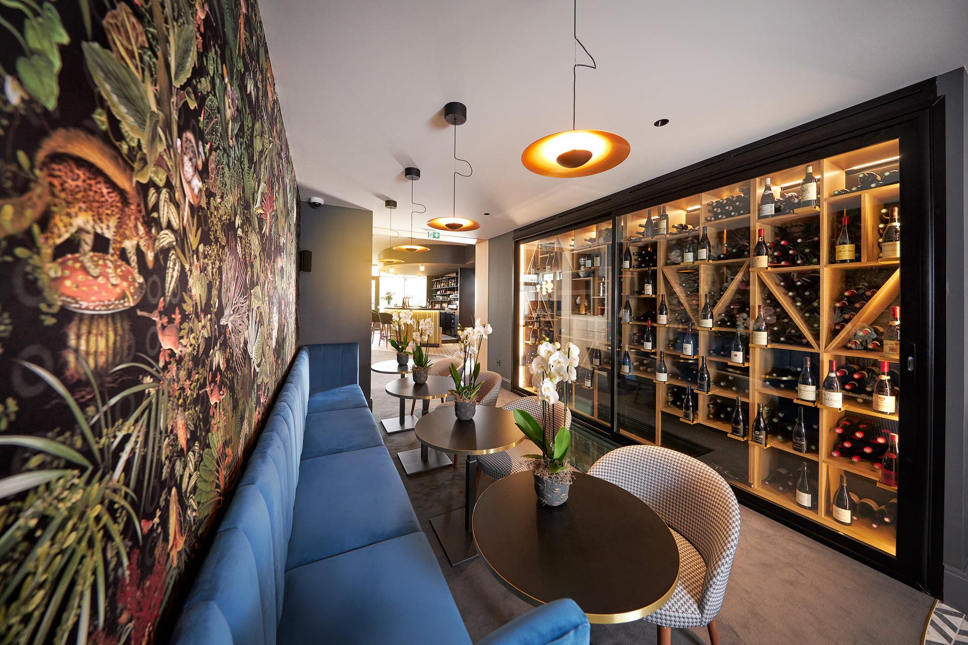 Cave à vin | restaurant Maison Grizlaw