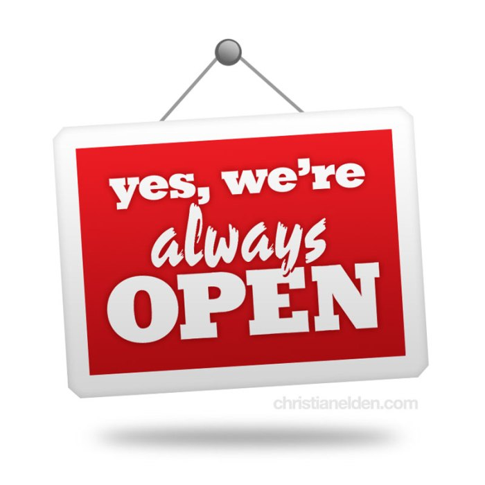 open-always
