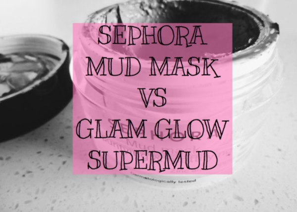 Sephora Mud Mask vs Glam Glow Supermud | Kate Loves Makeup