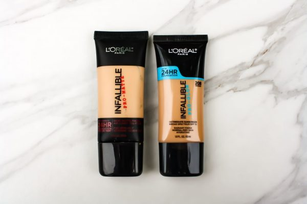 L'oreal Pro Matte and Pro Glow Foundations