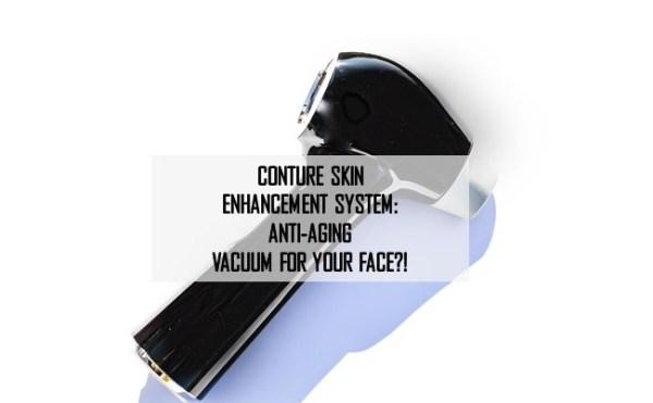 Conture Skin Enhancement System Anti Aging Vacuum For