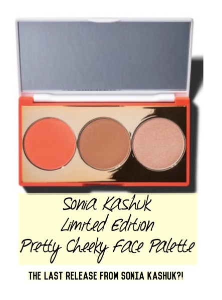 Sonia Kashuk Limited Edition Pretty Cheeky Face Palette | The Last Release From Sonia Kashuk?! | Kate Loves Makeup