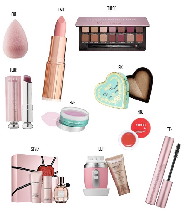 Valentine's Day Gift Guide for the Beauty Addict | Kate Loves Makeup